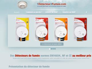 1Detecteur2Fumee, un guide sur les détecteurs de fumée