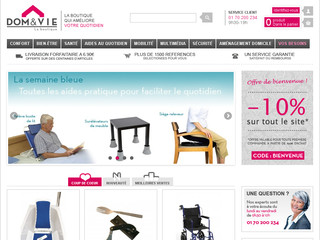 Dometvie-boutique : accessibilité handicapé