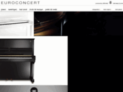 Vente de pianos Steinway en ligne | Euroconcert