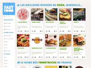 www.fastfood.fr – Le guide en ligne du Fast Food en France