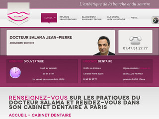 JP Salama – dentiste paris blanchiment des dents