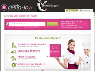 Resto-in.fr, plus de 500 restaurants à votre domicile