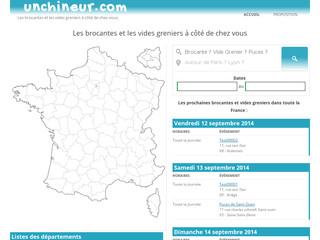 Brocante et vide grenier dans toute la France